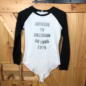 uo | out from under joyride to oblivion bodysuit